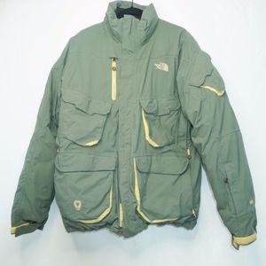 The North Face RECCO Goose Down Coat Jacket Mens L
